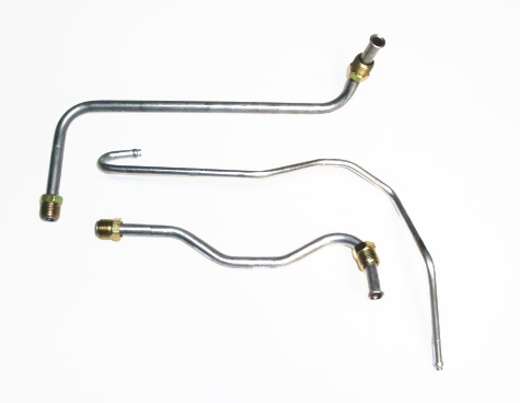 Corvette Line Sets Fuel Pump To Carburetor Steel Tubing 390 Hp 3