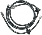 3502A CABLE SET-BATTERY-SPRING RING-2 GAUGE WIRE WITH GROMMETS-PAIR-68-E69