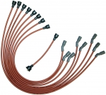 E14219 WIRE SET-SPARK PLUG-ALL V-8 BIG BLOCK L-88 AND ZL-1-DATED 12-68-REPRODUCTION-USA-69