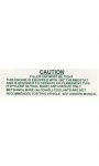 13142 DECAL-COOLING SYSTEM WARNING-63-64E