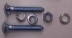 22121 BOLTS-LOCK WASHERS-NUTS-SIDE PIPE REAR-2 EACH-65-67