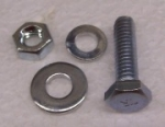 26013 BOLT,NUT AND WASHER SET-ACCELERATOR LEVER-63-67