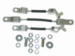 48082 CABLE SET-SEAT BELT-WITH HARDWARE-65-67
