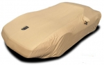 E10597 COVER-CAR-PREMIUM FLANNEL-TAN-91-96