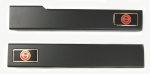 E1083 SILL COVER-ALTEC-BLACK ANODIZED-PAIR-84-87