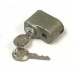 E19694 LOCK-SPARE TIRE-WITH D LATE KEYS-LARGE CAP, LARGE HOLE-68