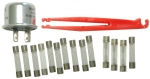 E11205 FUSE AND FLASHER KIT-17 PIECES-64-66