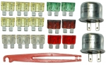 E11214 FUSE AND FLASHER KIT-18 PIECES-79