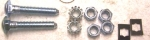E11543 BOLT AND NUT KIT-FUEL TANK STRAP-63-82