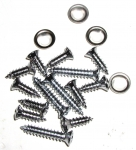 E11665 SCREW SET-14 PIECES-WINDSHIELD-TRIM MOLDING-78-82