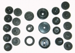 E12164 GROMMET SET-FIREWALL-AND-BODY-24 PIECES-56-57