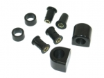 E12460 BUSHING KIT-FRONT SWAY BAR-POLYURETHANE-22MM-84-87