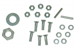 E12855 RIVET SET-STEERING WHEEL-THREADED TYPE-USE WITH REPRO WHEEL-56-62