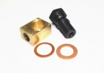E13070 BLOCK KIT-BRAKE LINE-AT MASTER CYLINDER-WITH SPECIAL BOLT AND 2 COPPER WASHERS-53-62