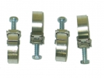E13156 CLAMP SET-AUTOMATIC TRANSMISSION COOLING LINES AND 63-64 FUEL SYSTEM HOSE-4 PCS-63-71