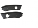 E13367 MOLDING-WINDSHIELD HEADER END-ROOF LATCH PLATE-CONVERTIBLE-PAIR-86-88
