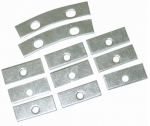 E13423 PLATE-GRILLE OVAL MOUNTING-RETAINER-11 PIECES-53-57