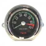 TACHOMETER - ASSEMBLY - GENERATOR DRIVE - 6500 RPM RED LINE - 60E
