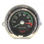 TACHOMETER - ASSEMBLY - DISTRIBUTOR DRIVE - 6500 RPM RED LINE - 60E