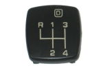 E13708 BUTTON-SHIFTER KNOB-4+3-SPEED-85L-88