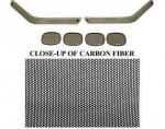 E14045 BLACK OUT KIT-FRONT AND REAR-CARBON FIBER-91-96