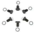 E14790 BOLT SET-FLEXPLATE TO CRANK SHAFT-AUTOMATIC-WITH LOCK WASHERS-6 EACH-62-82
