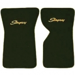E14836LS MAT SET-FLOOR-80-20 LOOP-WITH EMBROIDERED STINGRAY LOGO-COLORS-PAIR-69