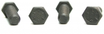 E15074 BOLT SET-TRANSMISSION TO BELL HOUSING-GRADE 5-4 SPEED-4 PIECES-56-81