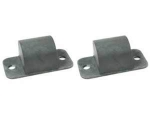 E15138 BUMPER SET-REAR FRAME OVER LEAF SPRING-WITH FLAT PLATE-PAIR-57L-58