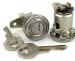 E15176 LOCK-DOOR-WITH ORIGINAL KEYS AND PAWLS-PAIR-56-60