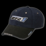 E15451 CAP-NAVY-BLACK-ZR1