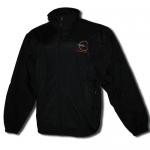 E15537 JACKET-NYLON-BLACK-TOURNAMENT