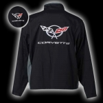 E15542 JACKET-BLACK-C5 MATRIX CORVETTE