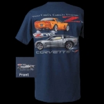E15556 SHIRT-YOU CAN'T CATCH THESE Z'S-MEDIUM BLUE
