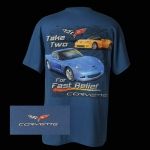 E15588 SHIRT-TAKE TWO FOR FAST RELIEF-BLUE