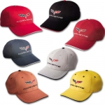 E15680 CAP-C6 CORVETTE COTTON TWILL SANDWICH-7 COLORS