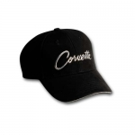 E15681 CAP-CORVETTE LIQUID METAL-BLACK