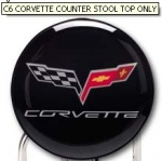 E15768 STOOL TOP-C6 CORVETTE COUNTER STOOL TOP ONLY
