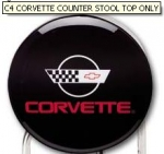 E15770 STOOL TOP-C4 CORVETTE COUNTER STOOL TOP ONLY