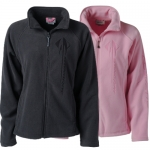 E15852 JACKET-LADIES-SONOMA FULL-ZIP MICROFLEECE-STINGRAY-CHARCOAL