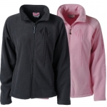 E15853 JACKET-LADIES-SONOMA FULL-ZIP MICROFLEECE-STINGRAY-PINK
