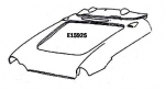 E15925 HOOD SURROUND-PRESS MOLDED-INCLUDES UPPER DASH-WHITE-56-57