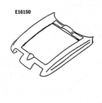 E16150 HOOD SURROUND-PRESS MOLDED-BLACK-67