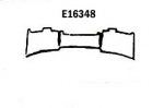 E16348 PANEL-REAR EXHAUST-PRESS MOLDED-GRAY-SIDE EXHAUST-66