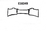 E16349 PANEL-REAR EXHAUST-PRESS MOLDED-BLACK-SIDE EXHAUST-67