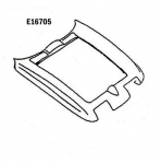 E16705 HOOD SURROUND-HAND LAYUP-63-67