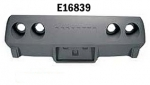 E16839 BUMPER-REAR-FIBERGLASS-HAND LAYUP-WITH EMBLEM INDENT-75