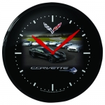 E17077 CLOCK-14-STINGRAY WITH CARS