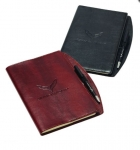 E17092 JOURNAL SET-EMBOSSED STINGRAY-VINYL-2 COLORS
