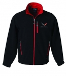 E17199 JACKET-STINGRAY-MATRIX SOFT SHELL-BLACK